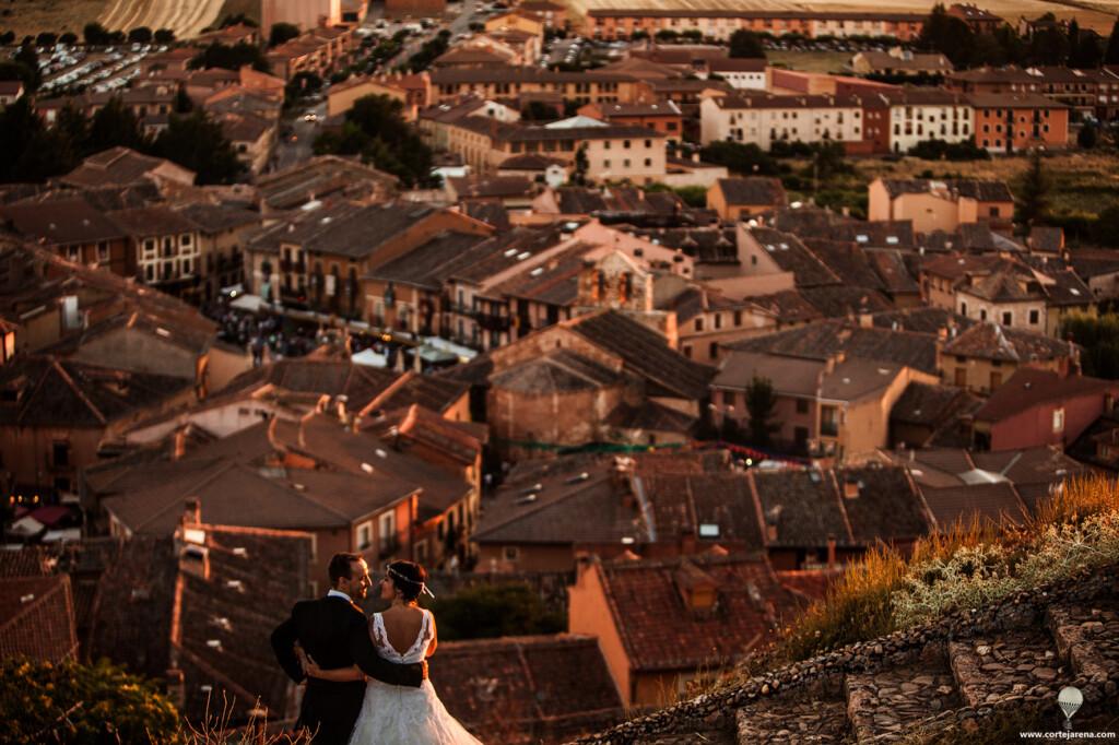 Fotos de boda en Ayllón