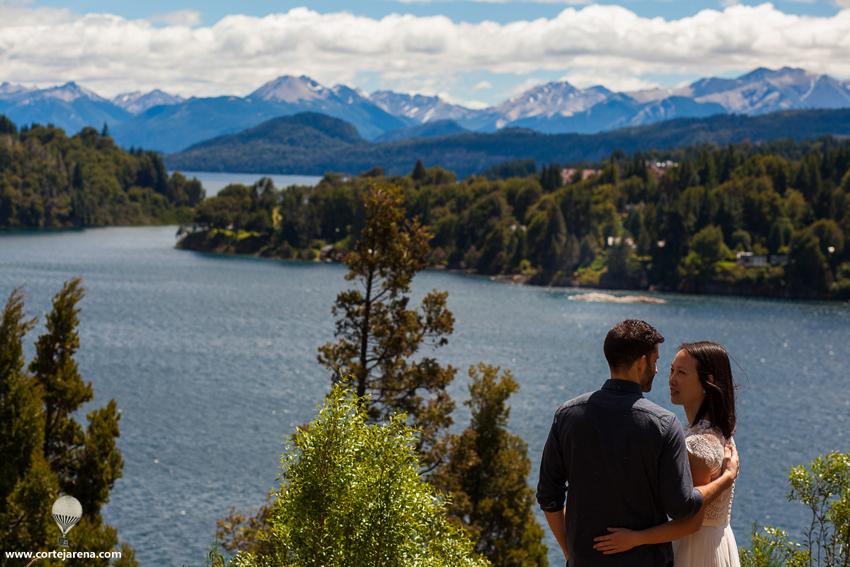 Preboda en La Patagonia